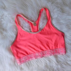 Hot Pink Under Armour Bra